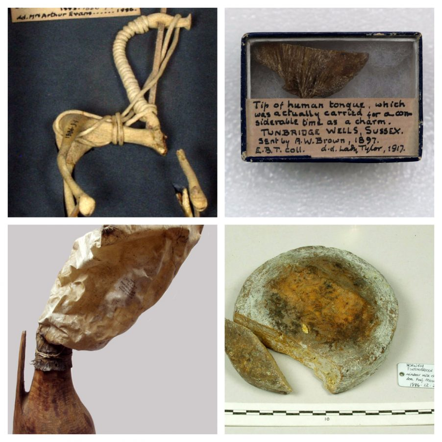 "Objects from the Pitt Rivers Museum, Oxford."" width="